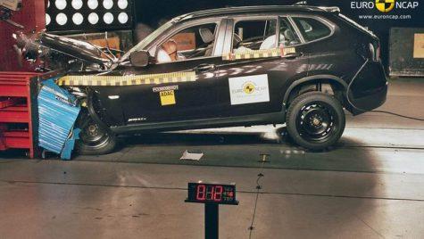 BMW X1 primeşte 5 stele la testul de impact Euro NCAP