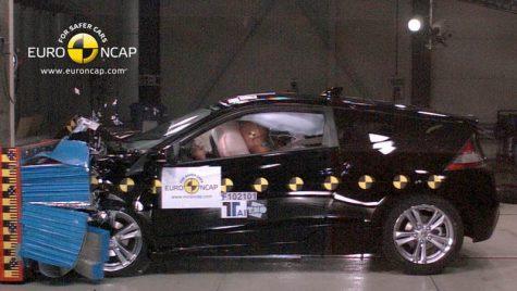 Honda CR-Z – primeşte rating de top la crash-test