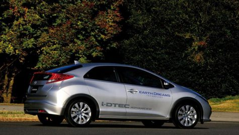 Diesel nou pentru Honda
