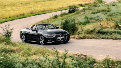 Test drive BMW 430i Cabrio model 2022