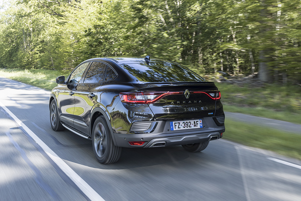 Renault Arkana E-Tech Hybrid demaraj.ro